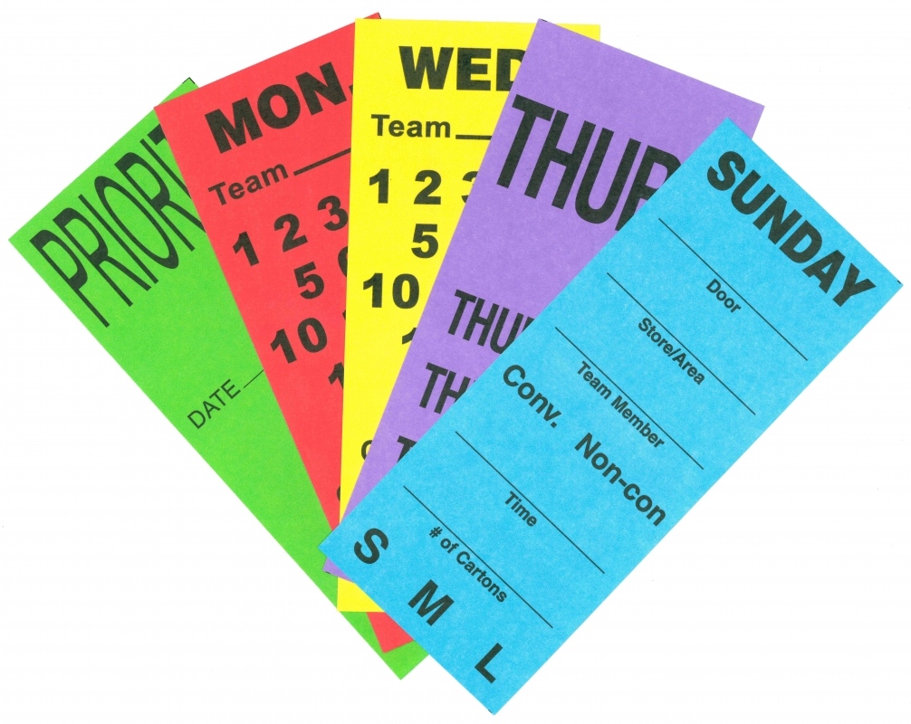 Durable Custom Pallet Labels   Manufactured and Printed