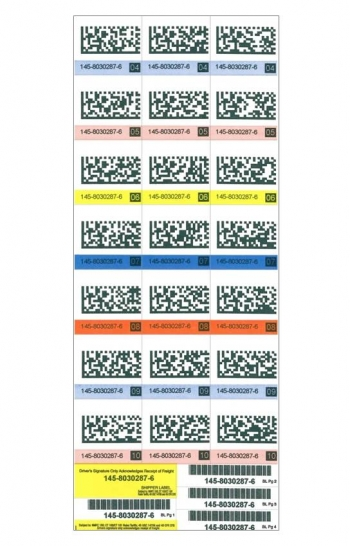 Chicago Tag and Label barcode labels