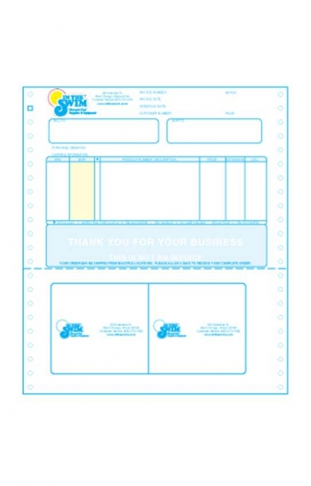Chicago Tag and Label custom preprinted forms