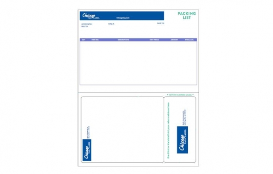 Chicago Tag and Label integrated labels