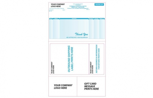 Chicago Tag and Label custom packing slips