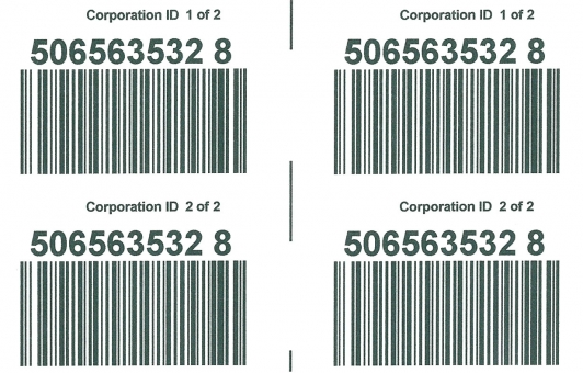 Chicago Tag and Label pallet labels